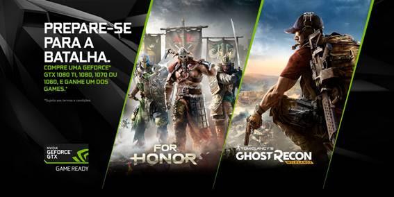 NVIDIA inclui GeForce GTX 1060 na promoção Compre e Ganhe