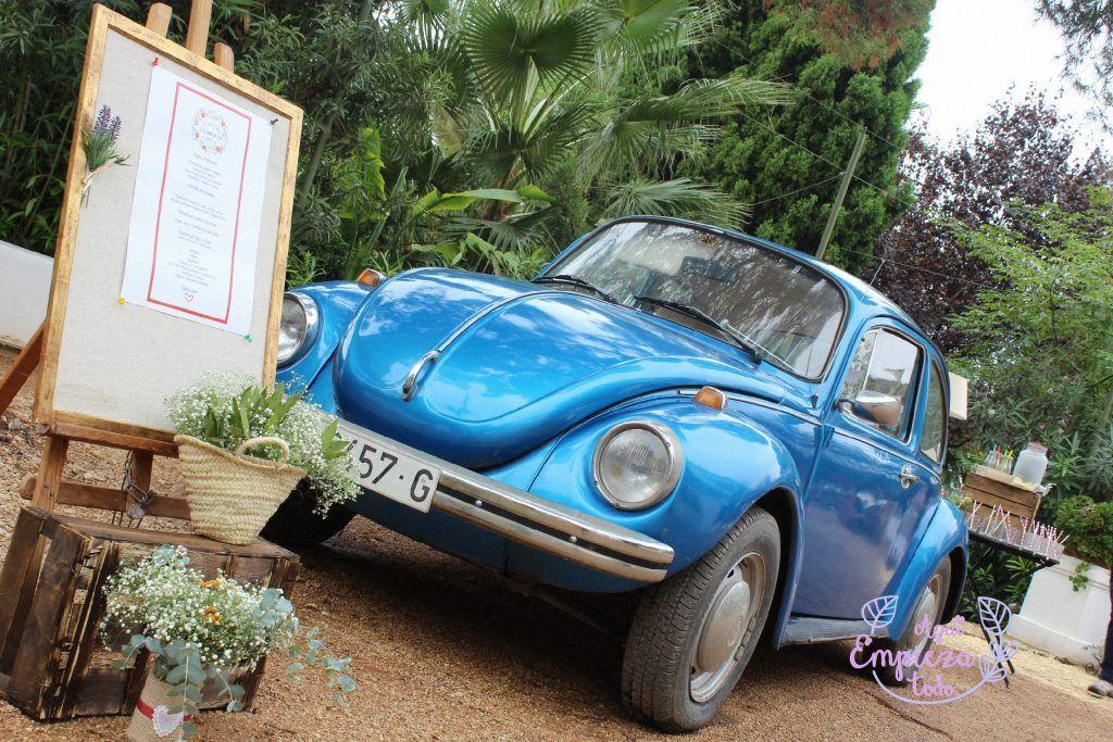 welcome boda coche