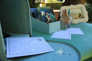 mesa libro de firmas buzon