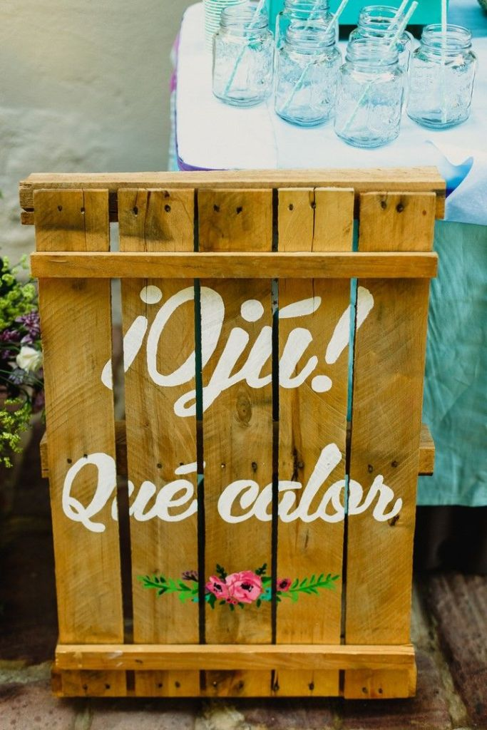 cartel personalizado boda pale