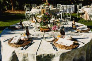 mesa boda regalo