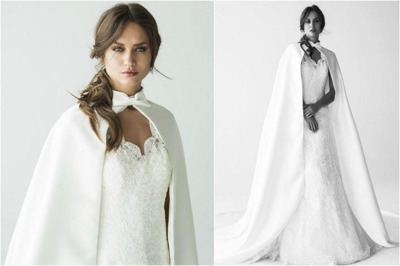 Vestidos de novia en invierno