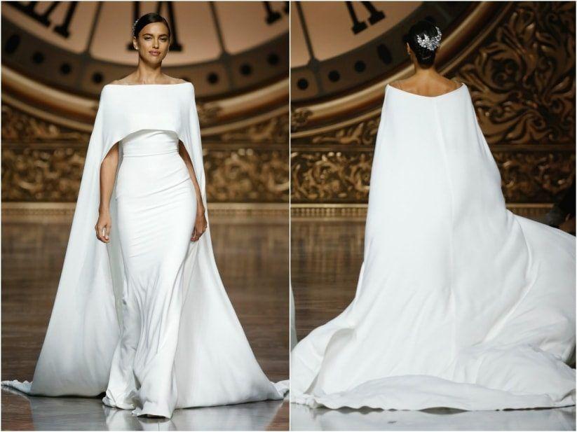 vestido de novia para invierno