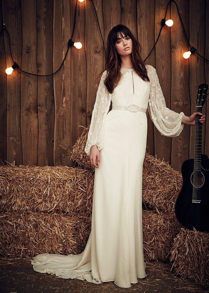 Imagenes de vestidos de novia para invierno