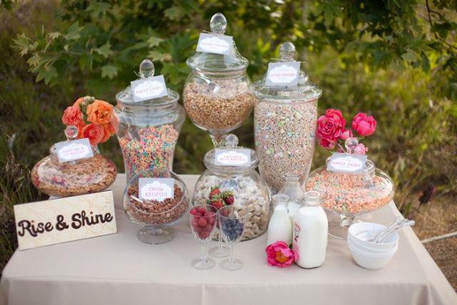 Cereal Bar boda