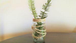 DIY decorar tarros de cristal con cuerda