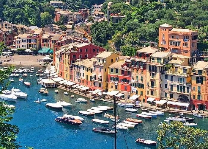 melhores praias da Italia Portofino