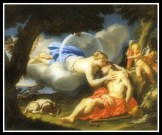 """Selene and Endymion"" by Francesco Trevisani (18th Century)."