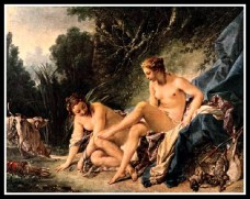 """Diana Leaving her Bath"" by François Boucher (1742)."