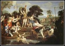 """""""Diana and her Nymphs"""" Domenichino (1617)."""