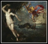 """Perseus and Andromeda"" by Titian. 1559."