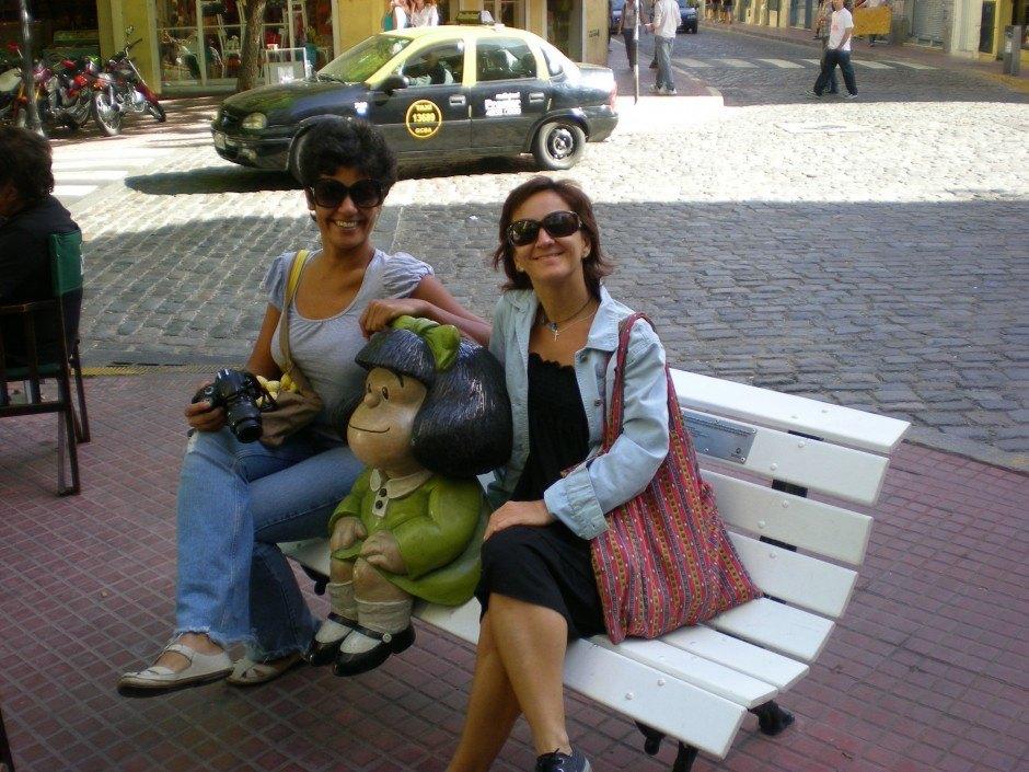 mafalda nanda y yo