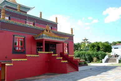 Fachada do templo. Foto Gisele Teixeira
