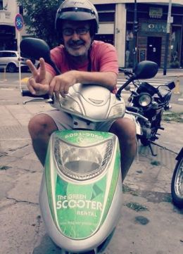 scooter ecologia_scooter verde