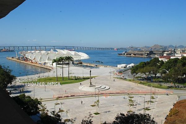 Praça Mauá restaurada rio de janeiro foto eduardo baró