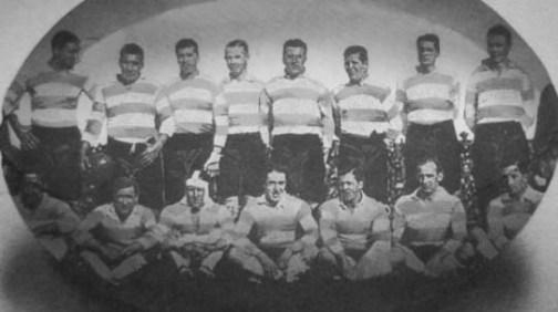 Equipo que jugó contra los Lions durante la gira de los británicos por Argentina en 1927.