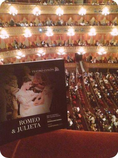 teatro colon romeu e juliea