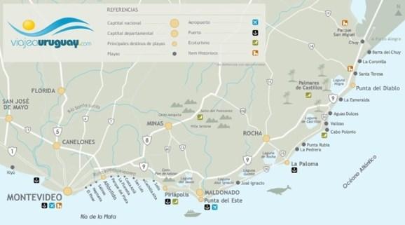 mapa-de-playas-de-uruguay