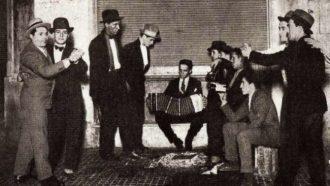 tango e politica foto histórica