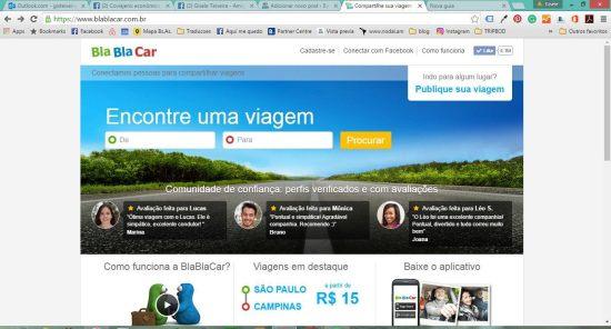 Compartilhe sua viagem - Caronas com confiança BlaBlaCar.com.br - Google Chrome 22062016 120731