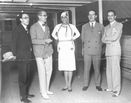 2.-Le-Corbusier-and-Joséphine-Baker-aboard-Lutetia-1929-FLC-ADAGP