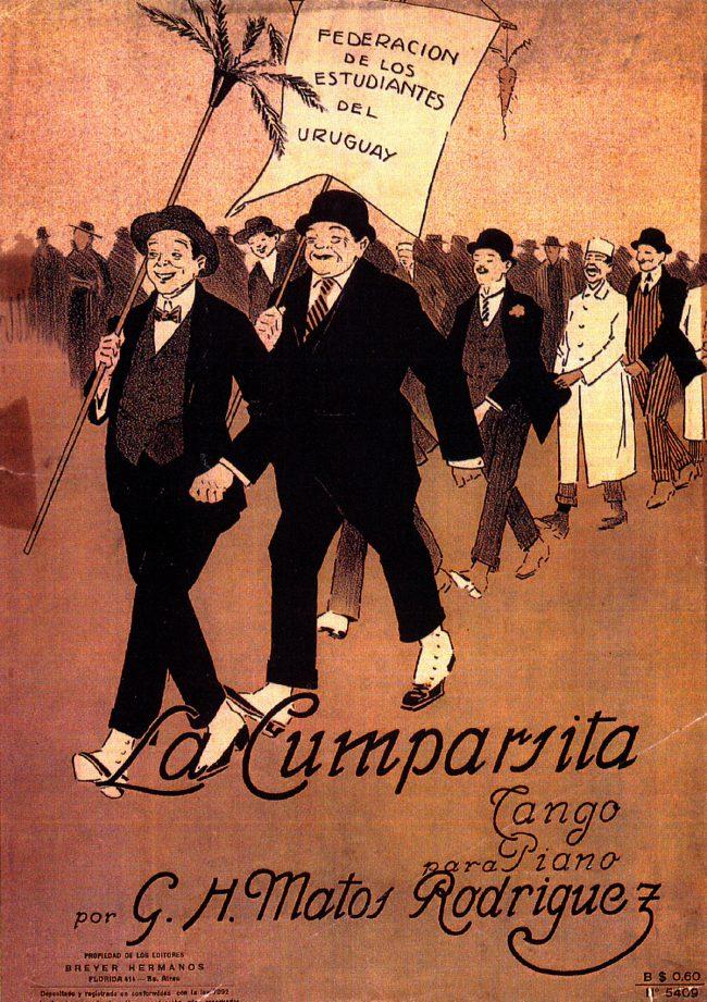 tango la cumparsita cartaza original