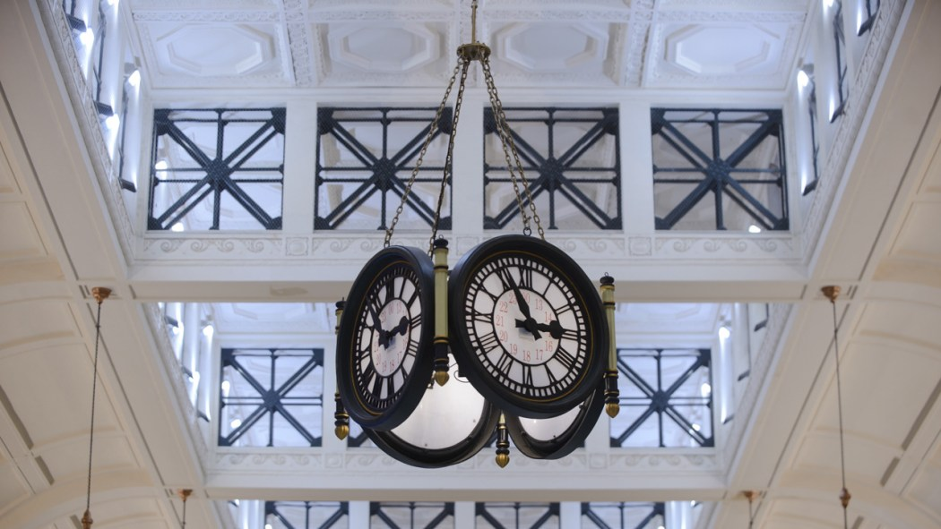 Estação Retiro hall Clarin