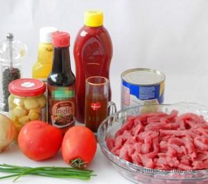strogonoff de carne
