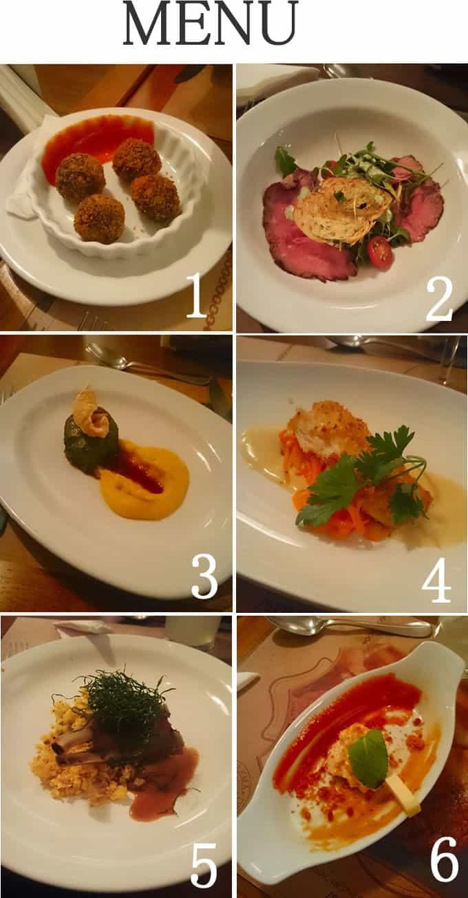 Jantar no Senac