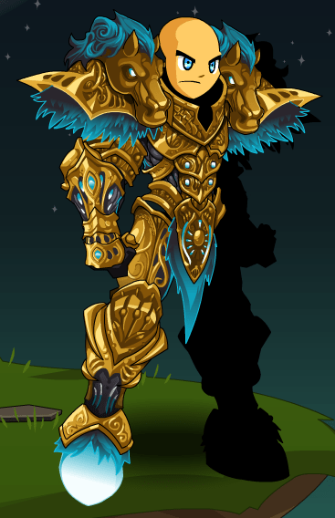 Golden Fury Armor AQW