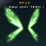 3 network down Green Magic Wings - AQW