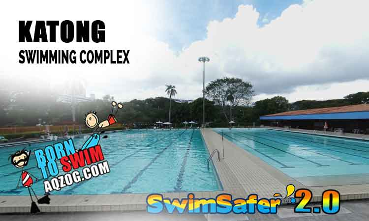 Katong Swimming Pool is near the East Coast Park. An ideal pool for biathlete who want to run and swim.