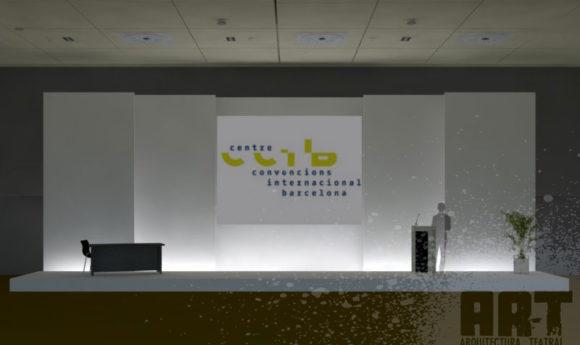 Diseño 3D para eventos