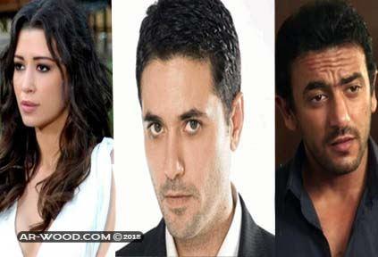 ابطال مسلسل أبو عمرو المصري