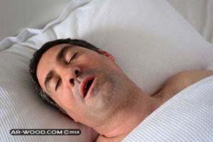 علاج الشخير اثناء النوم