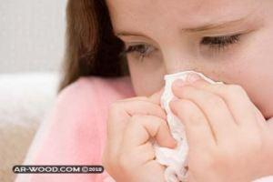 علاج نزلات البرد عند الاطفال بالاعشاب