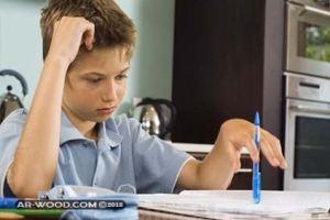 بحث عن التاخر الدراسي مع المراجع
