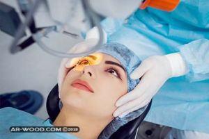 ما بعد عملية الليزر للعيون
