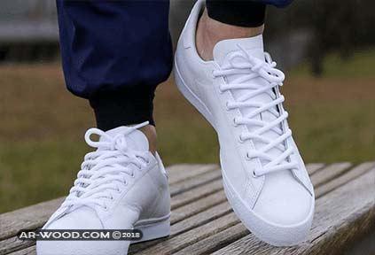 طريقة تنظيف الحذاء الابيض القماش