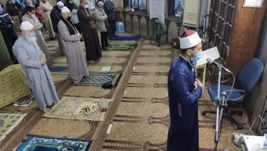 صورة بالصور :  لليوم الثالث على التوالي المساجد تستقبل ضيوف الرحمن لصلاة التراويح في الإسماعيلية  وروادها يشيدون بإجراءات الأوقاف لحمايتهم من فيروس كورونا