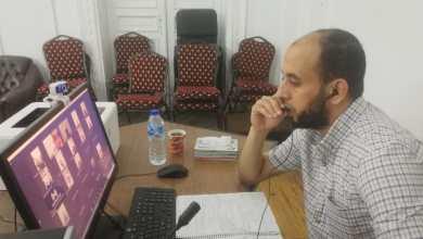 صورة التدريب عن بعد: دورة التدريب عن بعد (29) عبر تقنية zoom في اللغة العربية لأئمة شمال وجنوب سيناء
