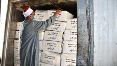 صورة بالفيديو والصور: انطلاق سيارات توزيع لحوم الأضاحي إلى محافظات: ( القاهرة – الدقهلية – بني سويف – المنوفية)