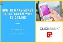 صورة ترويج ClickBank من خلال Instagram