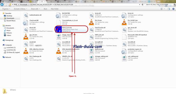 شرح تركيب الروم الرسمي Blu Dash 4.0 D261A