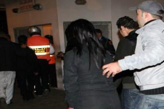 ضبط أجنبي وفتاة متلبسين بالفساد داخل شقة بأكادير