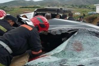 مصرع طفل وإصابة 5 أشخاص آخرين إثر حادثة سير بسطات