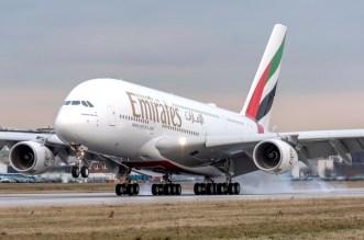 طيران الإمارات توقع مذكرة تفاهم مع إيرباص لإضافة 36 طائرة A380
