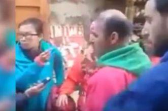بالفيديو.. سائحة شينوية حصلوها شافرة بورطابل لمغربي بفاس