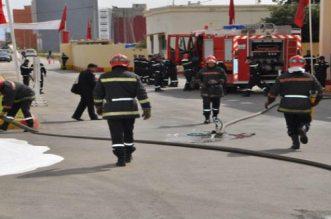اندلاع حريق داخل إدارة وكالة الحوض المائي أم الربيع ببني ملال