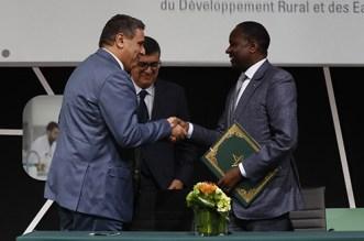 توقيع اتفاقية لتهيئة منصة لوجستيكية لتسويق الخضر والفواكه بميناء أبيدجان